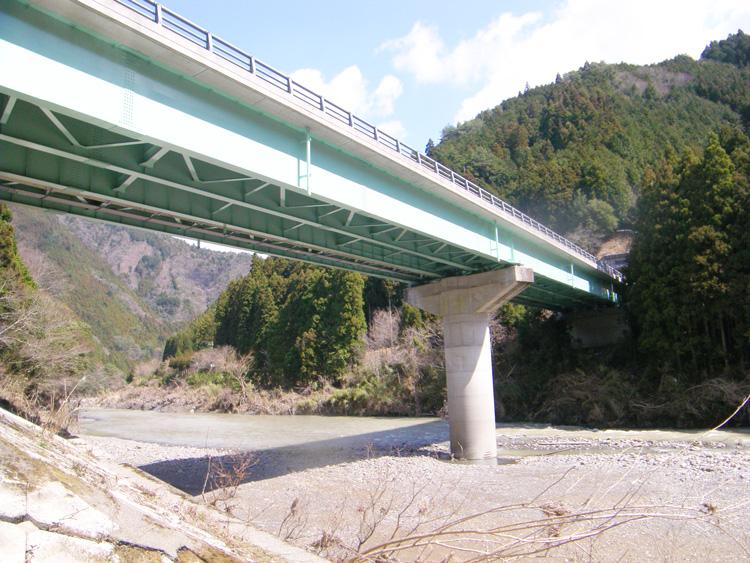 国道371号(下広井原橋)橋梁補修工事